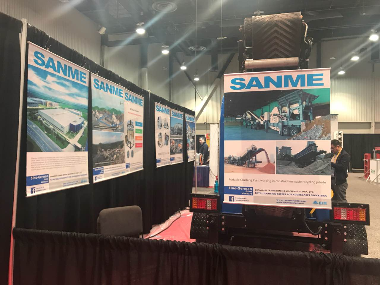 SANME showed up in WOC 2018